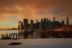 Sunset after Jonas (another_scotsman) Tags: longexposure sunset cityscape manhattan greaterphotographers