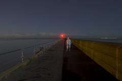 The divide (Alex Bamford) Tags: longexposure night fullmoon moonlit moonlight pajamas pyjamas shoreham sleepwalking