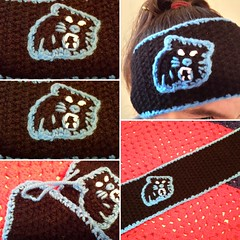 Super Bowl Sunday is coming up. What better way to support North Carolina and keep warm, than a cute pair of team colored ear warmers. You can find these at Etsy at HomeSchoolCrochet. Hurry and order now, and have for the big game. Thank you and God bless (carolineshepherd549) Tags: northcarolina panthers etsy superbowl teamspirit earwarmers homeschoolcrochet