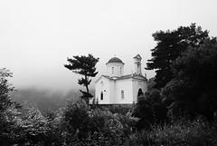 Winter in the village!!! (Antonis Kourkoumelakis) Tags: winter bw church monochrome clouds landscape mono blackwhite nikon crete v1 chania 10mm 2015 nikon1 nikon1v1 nikonv1
