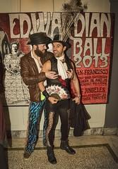 Edwardian Ball Embrace (All About Light!) Tags: costumes fashion style embrace steampunk grabbingtits arthurkochphotography edwardianball2016