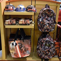 Disneyland Visit - 2016-01-24 - World of Disney - Star Wars Merchandise - Loungefly Bags and Purses (drj1828) Tags: california starwars disneyland visit merchandise anaheim dlr downtowndisney 2016 worldofdisney theforceawakens
