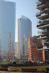 (B Plessi) Tags: italy milan vertical architecture zeiss forest 35mm italia milano porta architettura verticale nuova bosco f24 flektagon pnsc boeri bgp2016 gribaldo