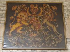 Royal Arms, Bretforton (Aidan McRae Thomson) Tags: church painting worcestershire bretforton royalarms