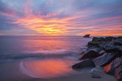 IMG_6016_pp_M (OceanStorme) Tags: ocean sunset sunsetbeach capemaynj higbeebeach canon24105mmf4 canon5dmarkii