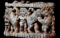 Master of Beasts (Gilgamesh and lions?) Iraq Museum, Baghdad (julianna.lees) Tags: baghdad gilgamesh iraqmuseum masterofbeasts