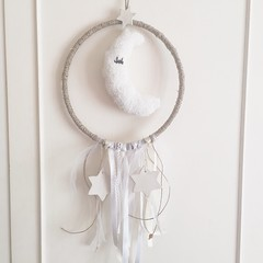 ✨🌜✨ #magic #baby #white #shabby #dream #dreamcatcher #moon #madewithlove #handmade #happy #kids #giftideas #kidsroom #ornaments #walldecor ✨🌜✨ (martina.rajhkokolek) Tags: baby moon white kids happy handmade magic dream ornaments kidsroom dreamcatcher walldecor shabby giftideas madewithlove