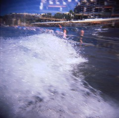 Shortly because I washed over by the wave... (breakbeat) Tags: ocean sea beach water grancanaria spain waves patalavaca holgagce6set2