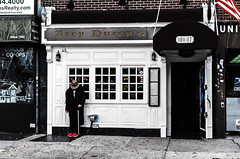 MaspethQueens2015(NY) (bigbuddy1988) Tags: street nyc people usa ny art film analog 35mm photography olympus queens 35mmfilm agfa om1 olympusom1 agfa400