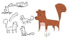All Dogs Start Brown (ictedulit) Tags: school dog pet brown animal education technology workinprogress event animation conference development ictedu