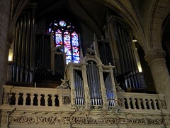 Notre-Dame Cathedral, Luxembourg (wattallan594) Tags: city travel europe pipe organ luxembourg notre dame cathdral