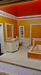 1/6 scale Bathroom (Ken Haseltine Regent Miniatures) Tags: bathroom barbie 16 diorama 16scalefurniture regentminiatures kenhaseltine 16scalehouse