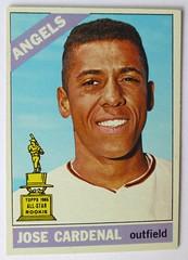 JOSE CARDINAL LOS ANGELES ANGELS 1966 (ussiwojima) Tags: baseball angeles jose 1966 card angels topps cardinallos