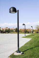 sad looking lightstands (rappensuncle) Tags: park lighting nevada henderson pathway lightstands rappensuncle
