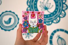 f_rabbit_1 (apolinarias) Tags: rabbit bunny art easter spring etsy
