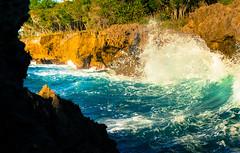 HVLU-4279.jpg (HVargas) Tags: ocean panorama beach water rock landscape coast waves scenic wave playa tidal ola crashing atlantico luperon oceanwaves wavescrashing tidalwaves oceanwavescrashing coastwave