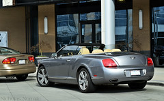 Bentley Continental GTC (Nicholas Normile) Tags: light grey nc charlotte continental midtown joes bentley trader gtc