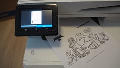นี่ผมลองพิมพ์ภาพระบายสี กังฟูแพนด้า 3 มาดู