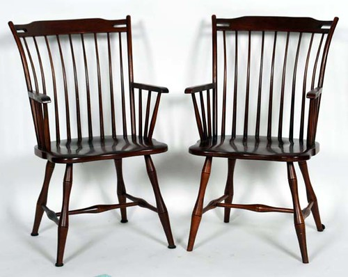 4 Tom Seely Windsor Chairs - $330.00