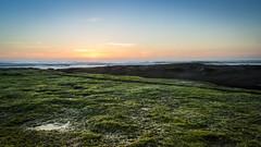 La Jolla Sunset (Danny Crowder) Tags: sunset sea seascape green water landscape la san diego jolla waterscape