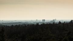 Arnhem - Skyline (mauriceweststrate) Tags: city mist skyline haze view maurice arnhem perspective lookout vista viewpoint veluwe rozendaal weststrate emmapiramide