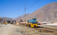 Nr 72 at work (david_gubler) Tags: chile train railway llanta potrerillos ferronor