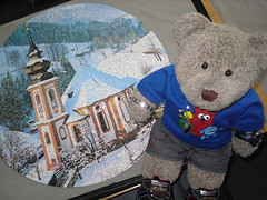 I did this one super-fast!! (pefkosmad) Tags: bear trees snow ted mountains church toy austria stuffed soft village teddy scene hobby plush puzzle round leisure jigsaw circular pastime heiligenblut waddingtons fluffie tedricstudmuffin