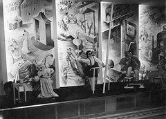 """Monday's Child"" mural, Britain Can Make It. 1946 (Design Archives) Tags: design murals exhibitions barbarajones britaincanmakeit"