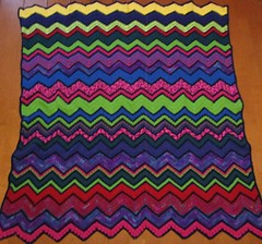 Fran Schmitt 1 (The Crochet Crowd) Tags: game stitch right blanket afghan throw crochetblanket thecrochetcrowd stitchisright