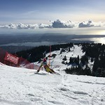 Myles Kowalczyk Teck U16 Open SL at Grouse Mountain, March 4-6/16 PHOTO CREDIT: Maria Sederholm