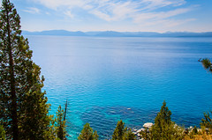 Sand Harbor - Nevada (scaturchio) Tags: blue trees sky mountain lake beach harbor sand harbour nevada tahoe laketahoe august nv 2015 sandharbor