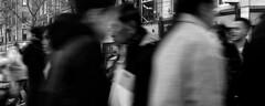 Different Ways (Owen J Fitzpatrick) Tags: ojf people photography nikon fitzpatrick owen j joe street pavement chasing d3100 ireland editorial use only ojfitzpatrick eire dublin republic city candid tamron oconnell unposed social crowd crowded movement woman beauty beautiful attractive handbag hat face coat walk pedestrian asian asiatica profile different way ways candidphoto candidphotography candidportrait natural blancoynegro pretoebranco schwarzundweis  hiybi  hi y bi blackandwhite nigra kaj blanka    aswd w abyad czarny biay