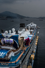 Cruiseship left Nagasaki 20160310 (Tomohiro Urakawa) Tags: cruiseship nagasaki quantum 長崎 クルーズ船 クァンタム・オブ・ザ・シーズ