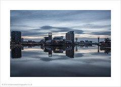 The sun doesnt always shine... (andyrousephotography) Tags: sun home clouds sunrise missing glow theatre salfordquays lowry disappointment anotherday noshow earlystart