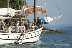 XOKA1633bs (forum.linvoyage.com) Tags: summer         color fishing boat speedboat sunset sea ocean yacht sail sky  o    phuketian outdoor vehicle malaysia langkawi     sun serene underwater mast