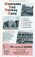 Morecambe Bay Holiday Camp, Heysham - 1961 advert (trainsandstuff) Tags: morecambebay heysham holidaycamp retro advert advertising holidaycentre morecambe morecambebayholidaycamp heyshamtowers postcard vintage lancs lancashire