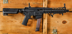 QC10 AR9 Pistol (S.Dobbins) Tags: new slr circle 10 small valley pistol frame quarter strike precision build spikes frontier ets kaw industries bcm kak 9mm glock tactical ar9 magpul qc10 thordsen
