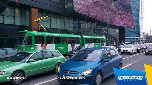 Info Media Group - Benetton, BUS Outdoor Advertising, Sarajevo 03-2016 (6)
