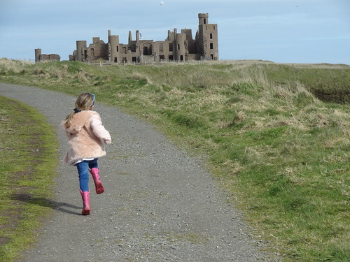 At Slains Castle