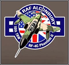 Al Bromley stickers Mar 2016 b (Sarge-Jack) Tags: phantom tac raf rf4c rafalconbury