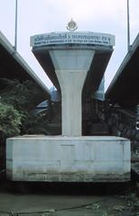Thailand - Bangkok - Saphan Taksin (railasia) Tags: 2001 thailand bangkok infra bts endoftheline saphantaksin silomline elevatedstructure metrosubwayunderground routenº2