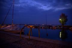 Peschiera del Garda (Everardus) Tags: lago nikon garda porto luci calma notte lungolago peschiera d610