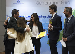 Generation uro Students' Award (European Central Bank) Tags: students ceremony award competition finals schools ecb ezb europeancentralbank monetarypolicy generationeuro