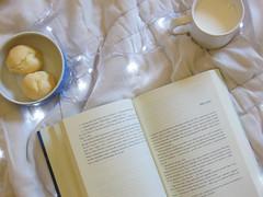 81/366 Reading time (JessicaBelotto) Tags: new luz de reading book milk museu foto post time interior room que read queijo hora da mug quarto fotografia cama projeto novo no po caneca ver fotogrfico leitura toda leite lendo podemos 366daysofhoney 366diasnoano