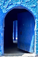A door in Chefchouen (Leonidas-from-XIV) Tags: morocco chaouen chefchaouen darktable