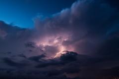 Thunderbolt (Giacomo Zema) Tags: light sky storm rain weather clouds dark nuvole dusk cielo lightning pioggia thunder luce thunderbolt tuono fulmine