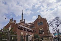 Barcelona (Juan Carlos Maguregi) Tags: barcelona torreagbar catalua hospitalsanpau barriogotico
