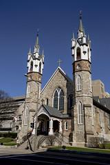 Church (DJ Wolfman) Tags: blue architecture canon buildings michigan michiganfavorites grandrapids grandrapidsmi westmichigan historicalarchitecture 1635mmf28l 5dmarkiii