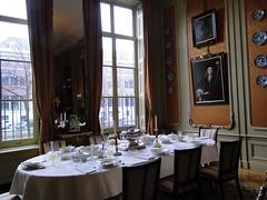 Dining room of the Van Loon museum (Joop van Meer) Tags: amsterdam keizersgracht 2016 museumvanloon