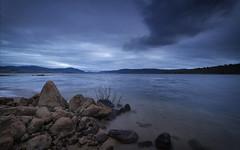 Lake Jindabyne (Bass Photography) Tags: autumn lake water shoreline alpine clounds snowymountains cooma perisher lakejindabyne snowyhydro australianalpine